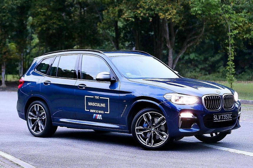 """The BMW X3 M40i puts the """"sport"""" in sport utility vehicle."""