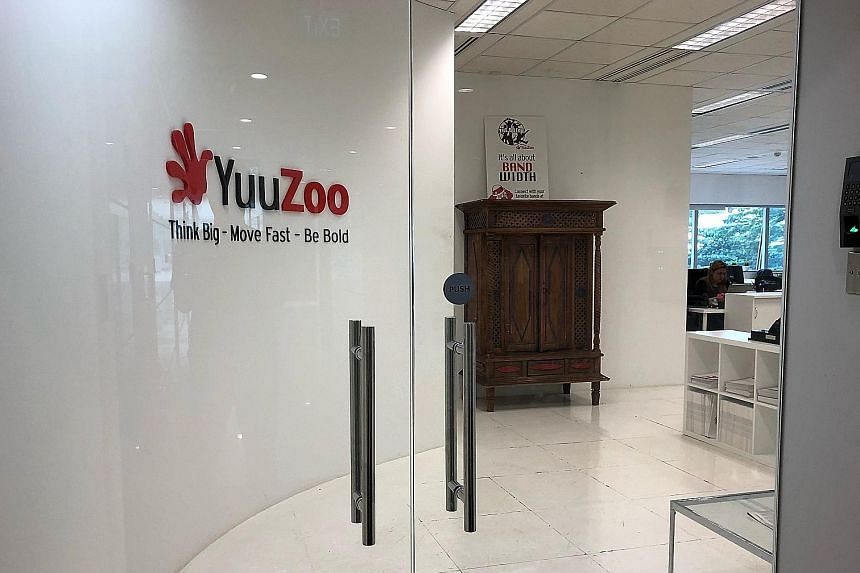 The raid on YuuZoo Corp's premises is understood to have taken place on Monday. Mr Thomas Zilliacus, who was CEO from 2013 to 2015, has had to hand over not just his passport but also all personal diaries, on top of e-mail and information technology