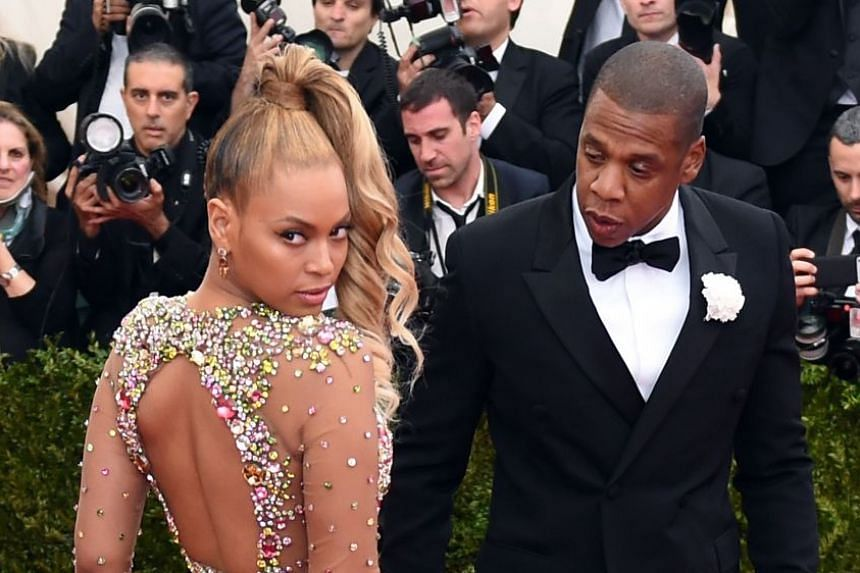 Beyonce and husband Jay-Z in 2015.