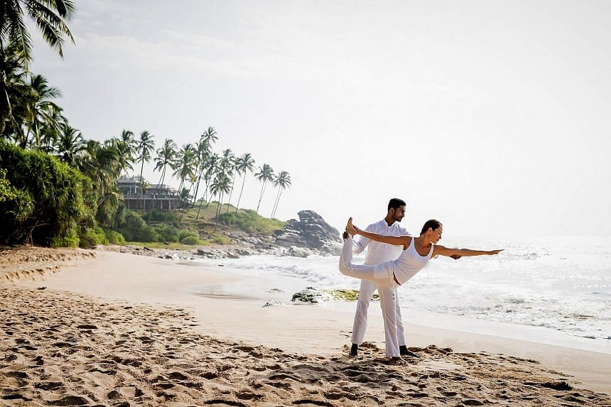 Doing yoga by the beach is part of the Deep Sleep wellness programme at Anantara Peace Haven Tangalle Resort in Sri Lanka. The Belem Tower in Lisbon is part of Insight Vacations' Best of Spain & Portugal tour, which is offered at a discount this mont