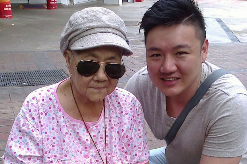Sean Wee decided to start Zinnia Afternote after losing his grandmother, who died at the age of 88 last year, to liver cancer. He last spoke to her in February last year.