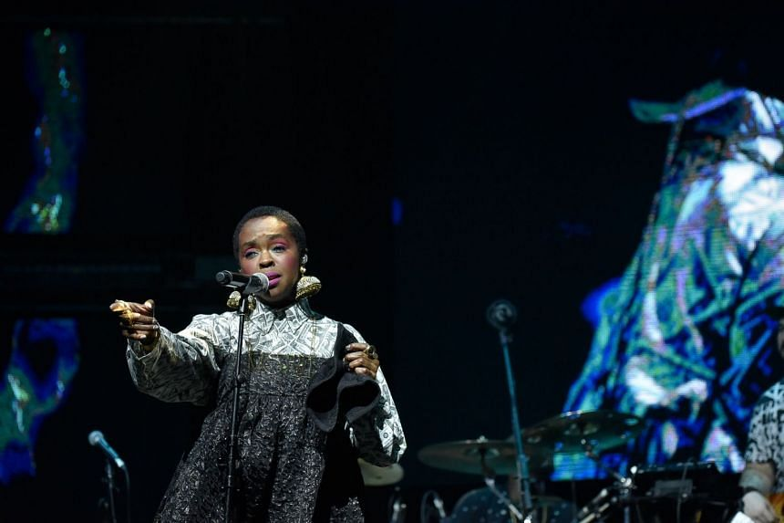 Multi-Grammy-winning artist Lauryn Hill performed a one-and-a half hour set at the Sands Expo and Convention Centre on the second day of the Sing Jazz 2018 festival on April 7, 2018.