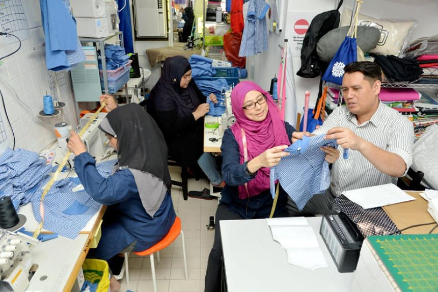 Mr Mohd Affendy Abdullah and his wife Haslina Abdul Hamid run Teag, a social enterprise helping single mothers and other socially disadvantaged women by teaching them how to sew.