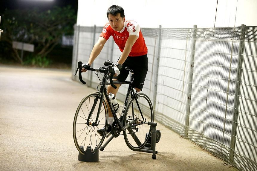 National para-cyclist Tan Hun Boon, who won a bronze medal on his debut at last year's Asean Para Games in Kuala Lumpur, gives talks and conducts motivational workshops for schools, private companies and the Singapore Armed Forces.
