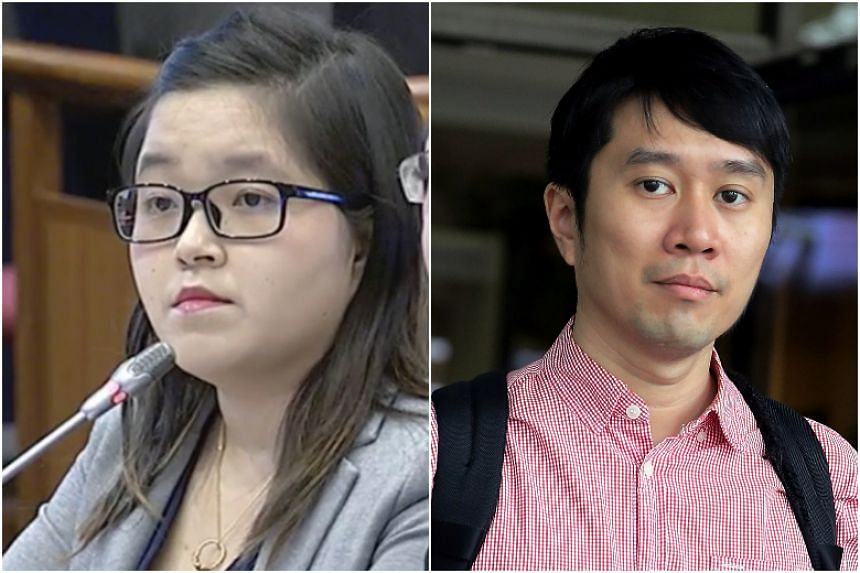 The parliamentary committee on deliberate online falsehoods has included some of the amendments requested by freelance journalist Kirsten Han (left), activist Jolovan Wham (right) and three others.