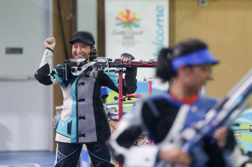 """Martina Veloso, who finished fifth in this event at the 2014 edition in Glasgow and won last year's SEA Games title in this event, said: """"I'm still shaking and can't believe it."""