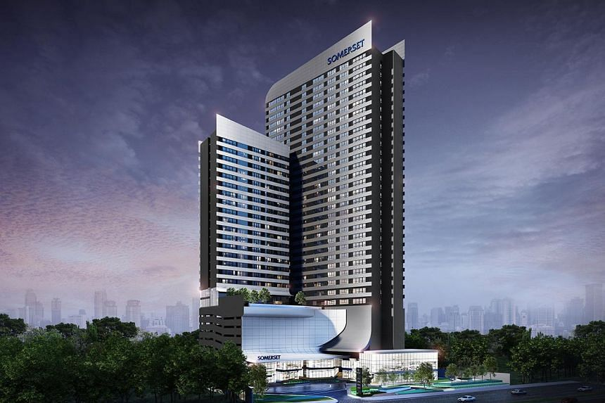 Somerset Rama 9 Bangkok, the first of four properties to open as part of Ascott's strategic alliance with Ananda Development in Thailand.