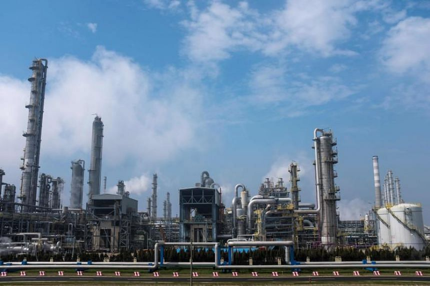 The Secco Petrochemical complex in Shanghai, on March 26, 2018. China has launched its first yuan-denominated oil futures on the Shanghai International Energy Exchange.