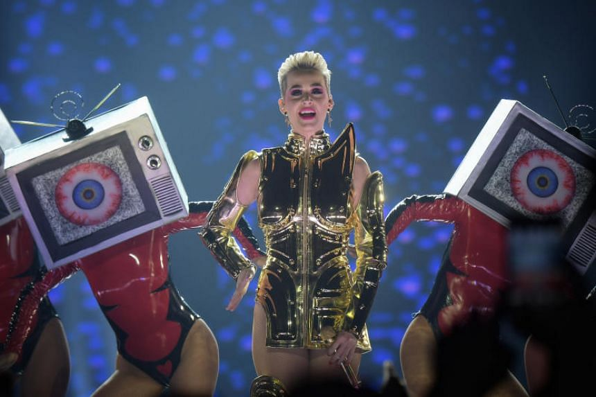 Fancy stage set-ups and multiple costume changes are par for the course for any pop show but in Katy Perry's case, every tune in her 18-song setlist featured some new gimmick.