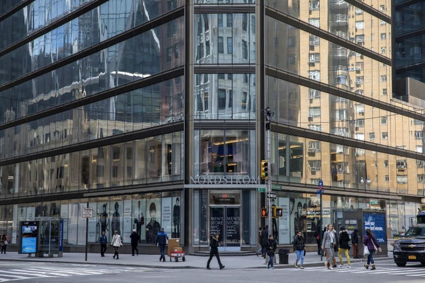 Nordstrom will open its first full-line store in Manhattan, a sleek, three-floor home to men's clothing, shoes and grooming supplies at 57th Street and Broadway.