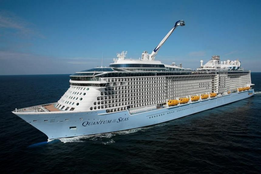 The move to base The Quantum of the Seas cruise ship here by Royal Caribbean International will increase its passenger capacity in Singapore by 30 per cent to tap the growing cruise market.