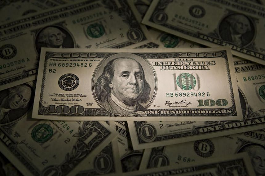 The US dollar index against a basket of six major currencies stood at 90.180, down from a one-month high of 90.597.