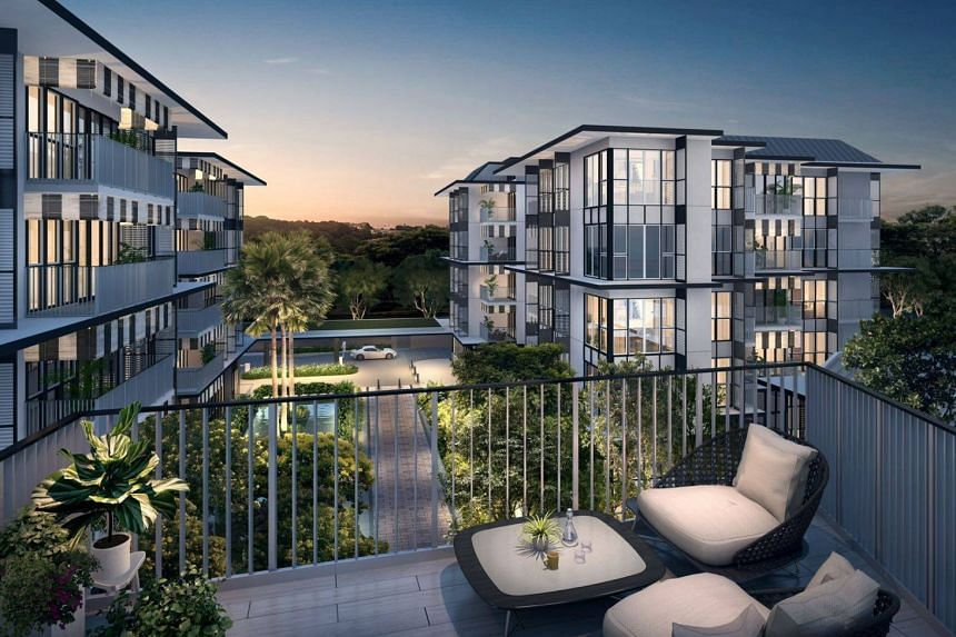 Demand was particularly strong for the one- and two-bedroom units of the 170-unit The Verandah Residences, which comprises 167 apartments and three strata houses.