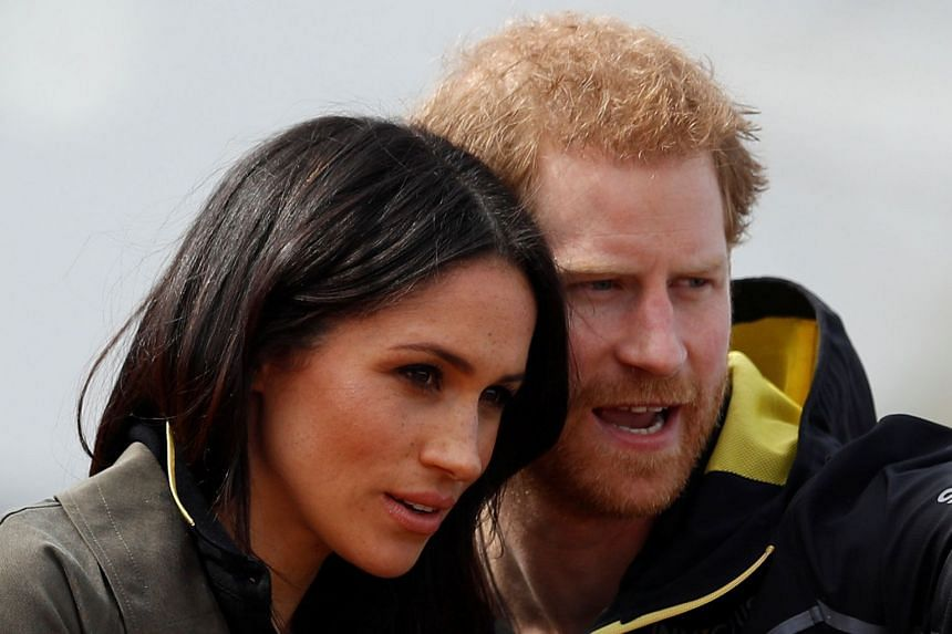 Prince Harry and Meghan Markle watch athletes at the team trials for the 2018 Invictus Games.