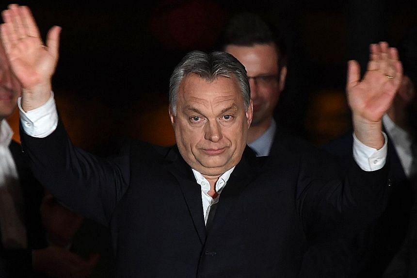 Prime Minister Viktor Orban's party says it will push on quickly with legislation to crack down on organisations promoting migrant rights.