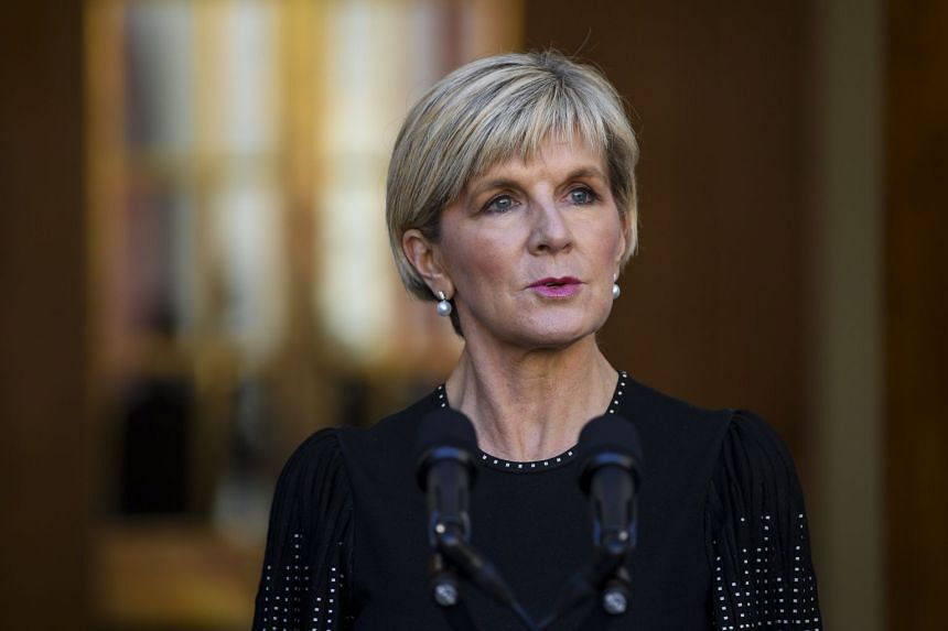 Australian Foreign Minister Julie Bishop said she had been assured by Vanuatu officials that there was no formal proposal from Beijing, but she stopped short of addressing whether there had been any unofficial talks.
