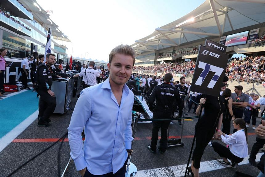 Nico Rosberg at the Abu Dhabi Grand Prix on Nov 26, 2017.