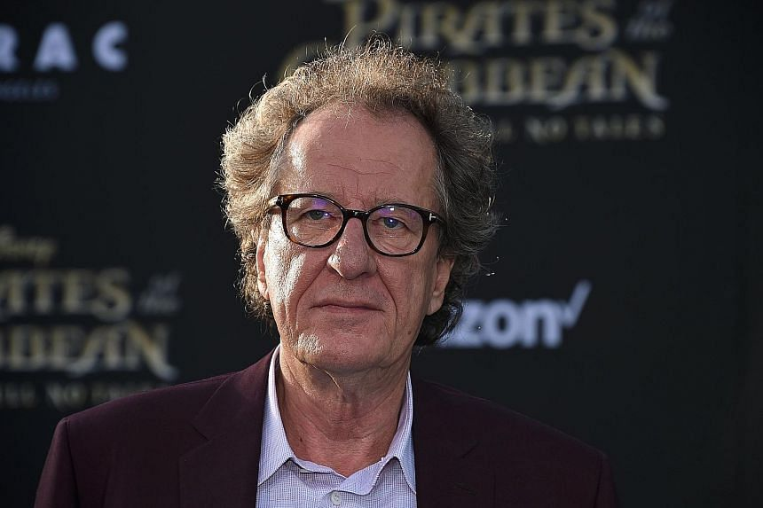 In December, Geoffrey Rush resigned as head of the Australian Academy of Cinema and Television Arts, which he had led for several years.