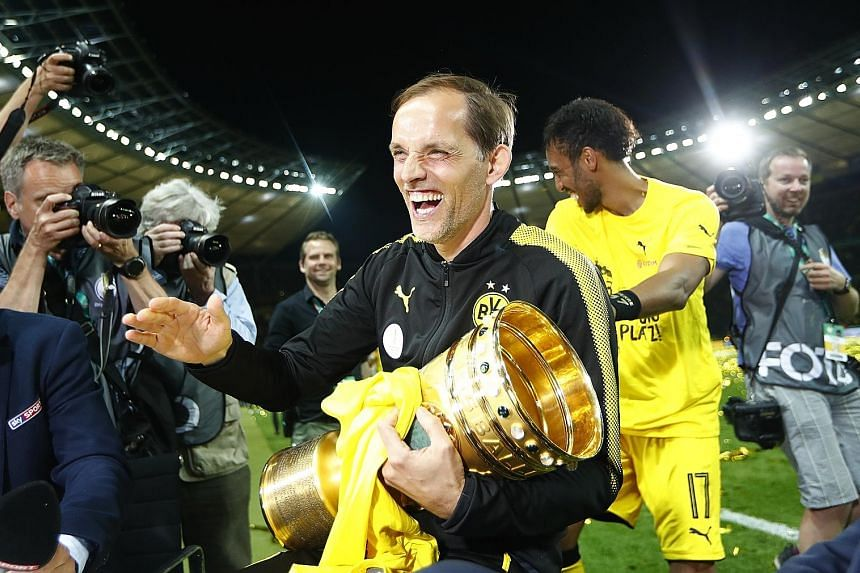 Thomas Tuchel, a winner of the German Cup with Borussia Dortmund last year, is rumoured to be the next Paris Saint-Germain coach.