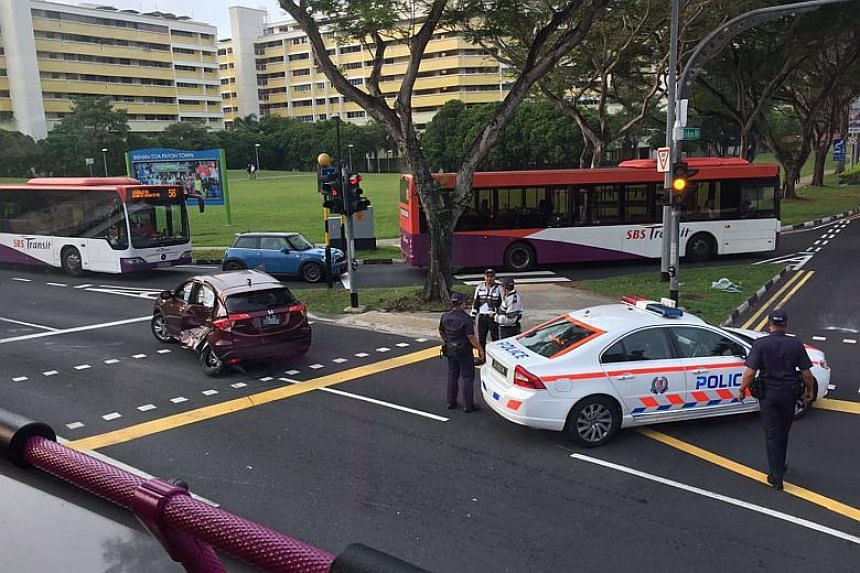 The accident occurred at around 6.45am at the junction of Bishan Road and Bishan Street 11, the police said.