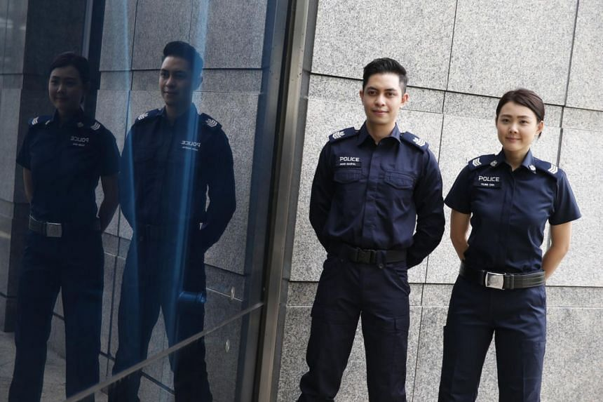Made of 98 per cent polyester and 2 per cent spandex, the new police uniform dries faster and has better sweat absorption capabilities.