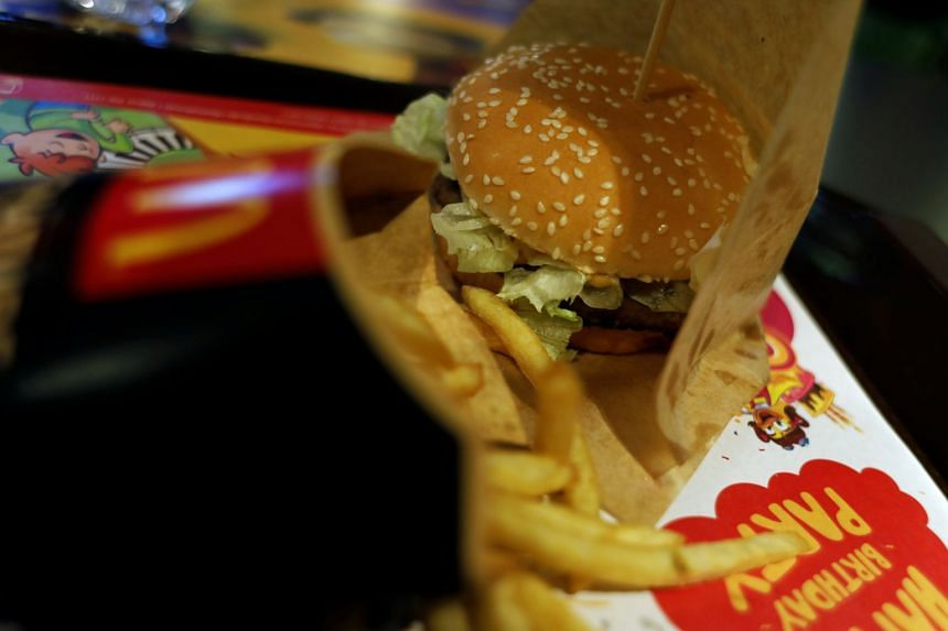 Certain foods, including burgers and sandwiches, were linked to higher phthalate levels in the study, but only if purchased at a fast-food outlet, restaurant or cafe.