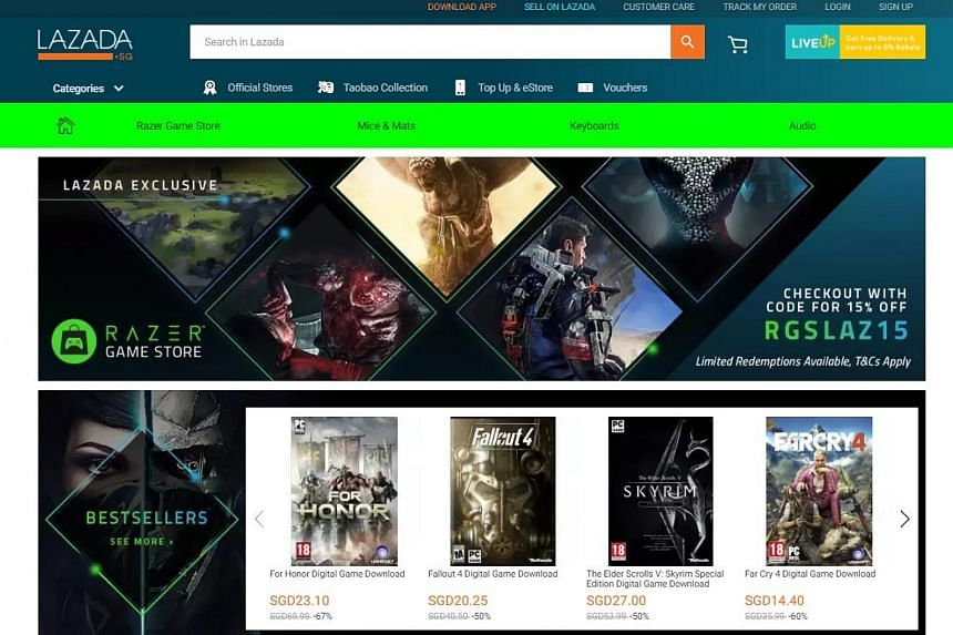 The store is said to be the only official South-east Asia-centric source of original PC digital games from publishers all over the world.