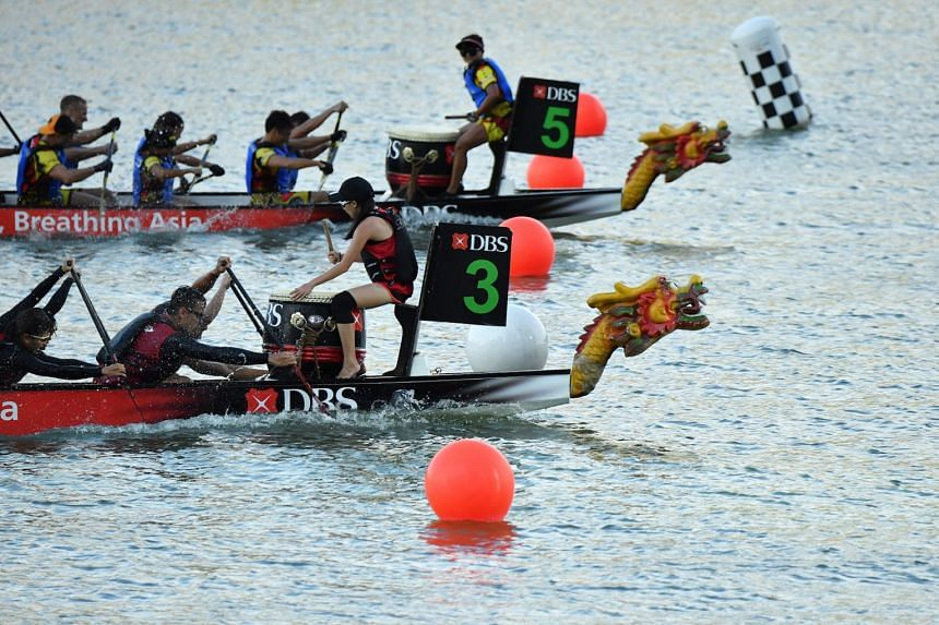 Adrenaline junkies set to get an extra kick at this year's DBS Marina Regatta.