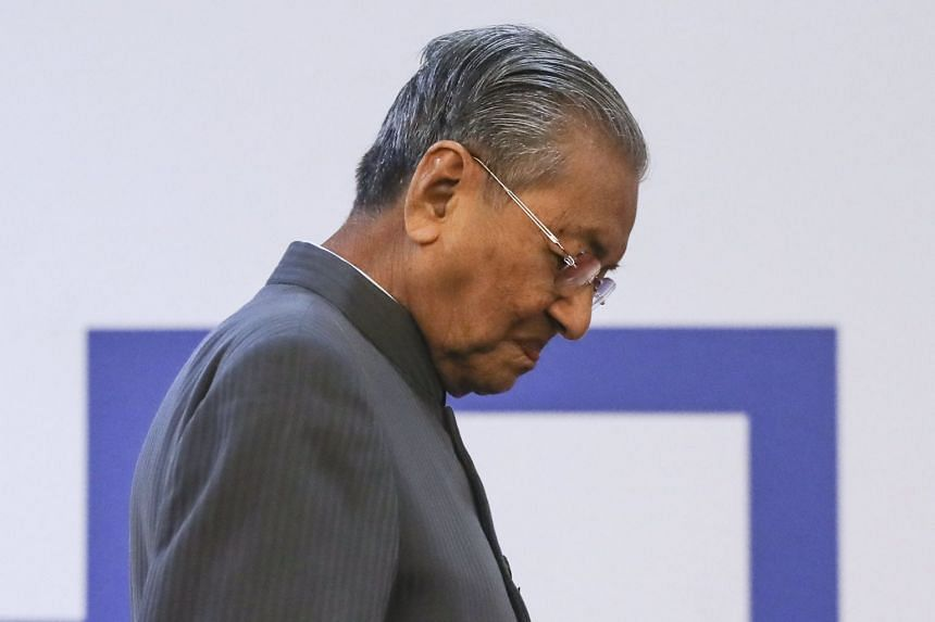 """Former Malaysian prime minister and opposition leader Mahathir Mohamad was reported to have said: """"I want to use a 'keling' word. The 'keling' say podah (get lost)."""""""