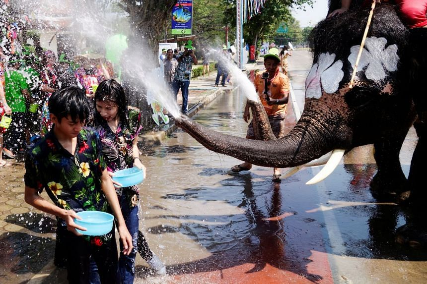 Songkran is often referred to as the world's biggest water fight, with revellers throwing water at passing cars and motorbikes that sometimes swerve to avoid getting doused.