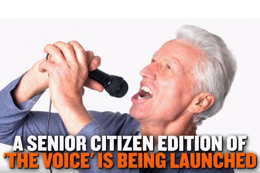 The Voice Senior, an old folks version of the blockbuster singing show, will hit screens across Europe and Asia in 2018.