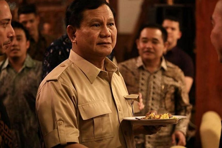Indonesia's largest opposition party Gerindra officially declared former army general Prabowo Subianto as its candidate for the 2019 presidential polls on April 11, 2018.