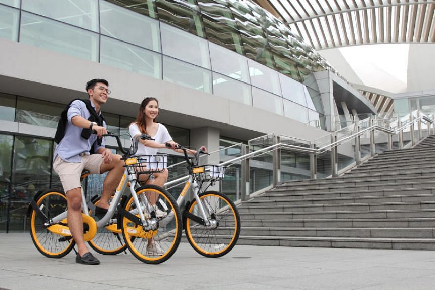 All participants will be provided with a bicycle from oBike, and a shuttle bus will ferry participants back to Punggol Park after the event.