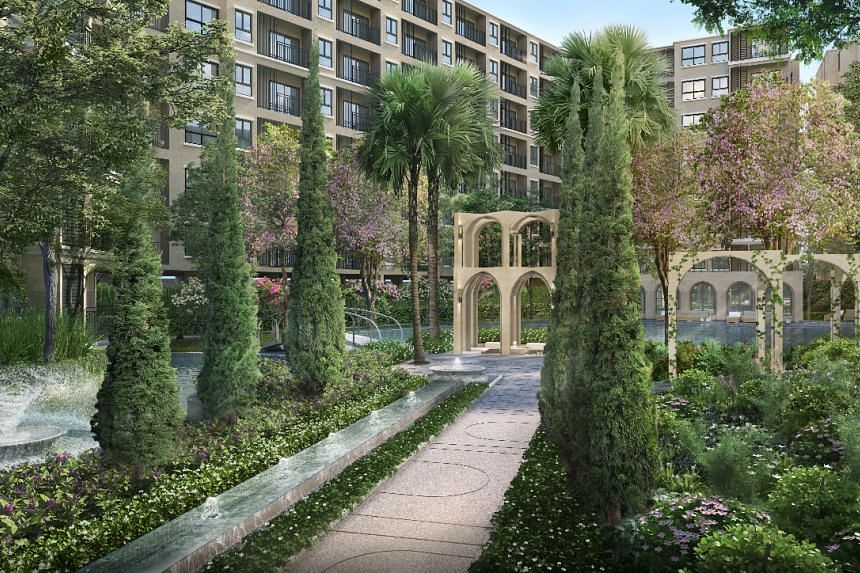 Large-scale residential project La Casita Hua Hin by Sansiri will house 705 units in a secured gated community. PHOTO: SANSIRI