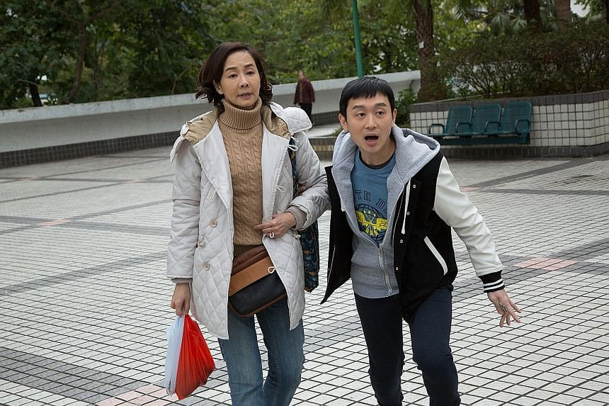 Teresa Mo is the mother who has to take care of her autistic son, played by Ling Man Lung.