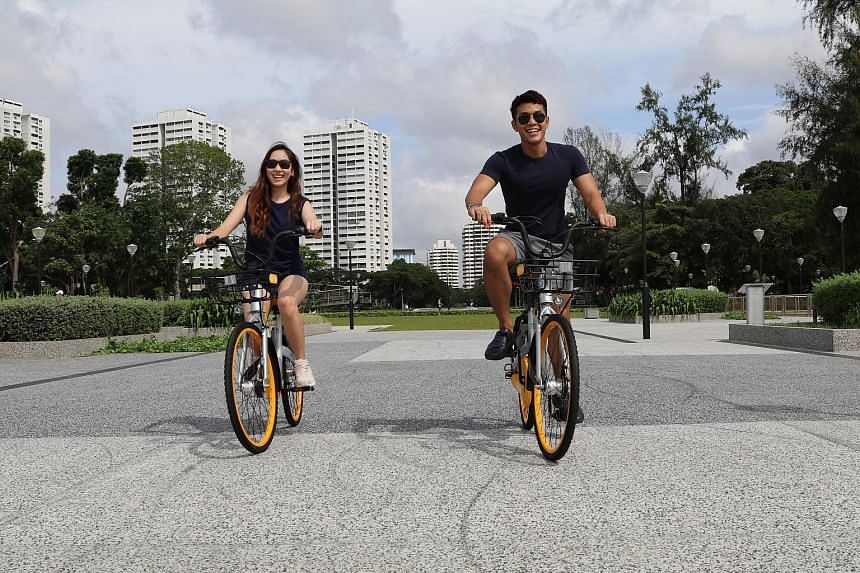 oBike will provide participants with bicycles for the April 21 Eat And Ride, which includes a pit stop for some chendol (above) at Inspirit House.