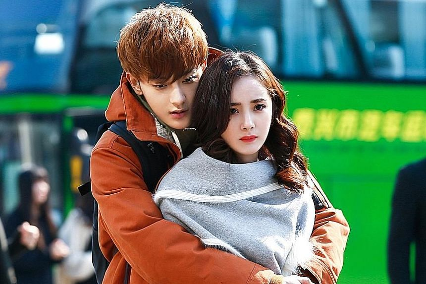 Lover boys charm their way in Tempted, starring Woo Do Hwan (above), and The Negotiator, which stars Huang Zitao and Yang Mi (both right).