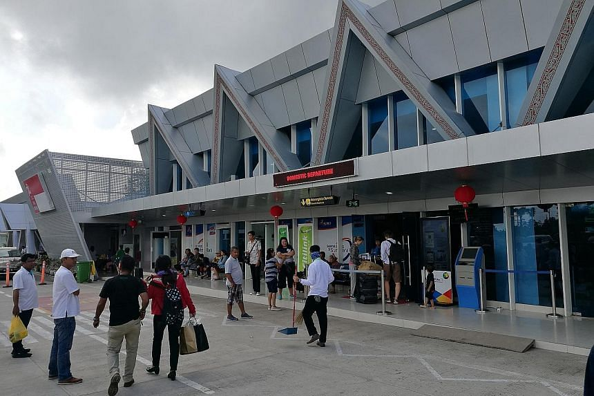 The newly renovated Silangit International Airport is a short drive away from Lake Toba, one of the main tourist attractions of North Sumatra.