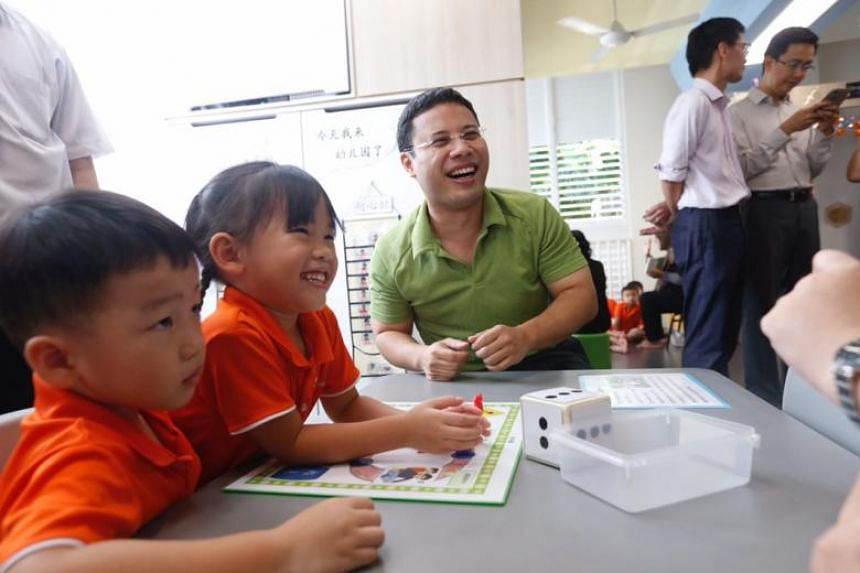This year's initiative, called Start Small Dream Big was officially launched by Mr Desmond Lee, Minister for Social and Family Development, at the National Trades Union Congress' My First Skool pre-school in Jurong West on April 12, 2018.