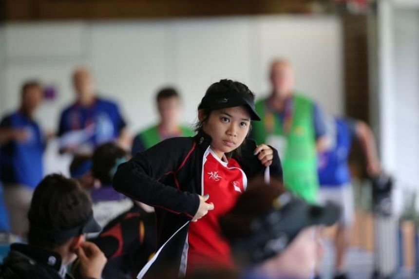The 18-year-old Veloso had won the 10m air rifle on April 9, 2018.