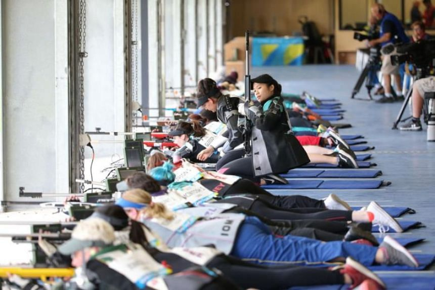 """Veloso told The Straits Times: """"It's unbelievable and did not expect this at all. I only just started training for this event and this is my first prone competition in a major competition."""