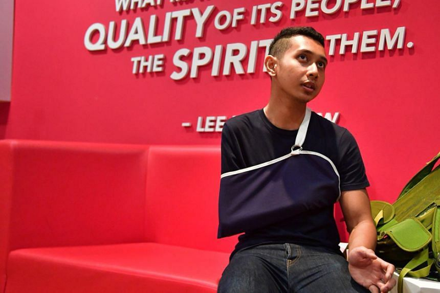 Para-sprinter Mohammad Khairi Ishak was due to compete in Friday's (April 13) men's T47 100m final.