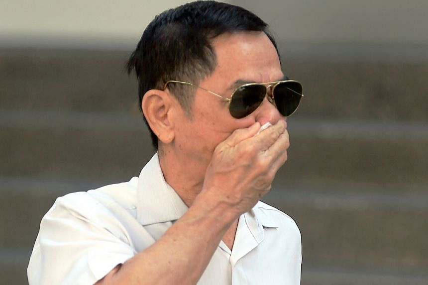 Ho Loong Chan was sentenced to five months and two weeks in jail for a hit-and-run incident that saw him repeatedly intimidate a motorcyclist and his pillion rider.