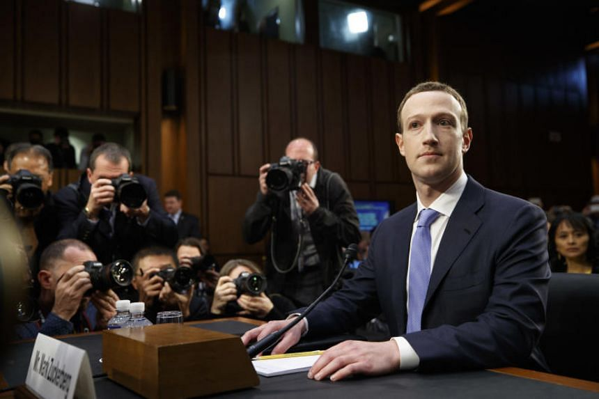 Mark Zuckerberg, the chief executive of Facebook, arrives to testify at a joint Senate Judiciary and Commerce Committee hearing, on Capitol Hill in Washington, April 10, 2018.