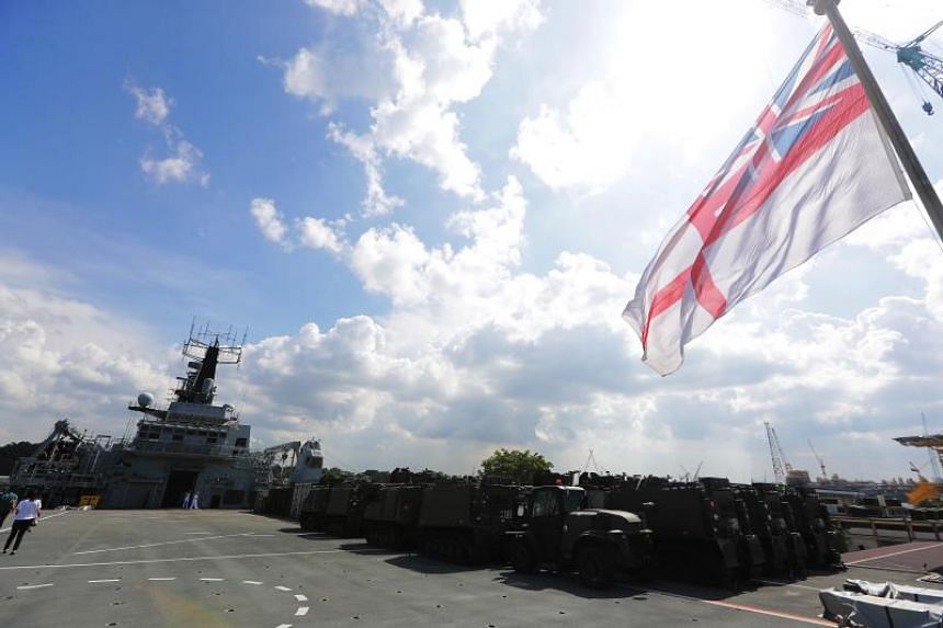 The HMS Albion will be in the Asia-Pacific throughout 2018.