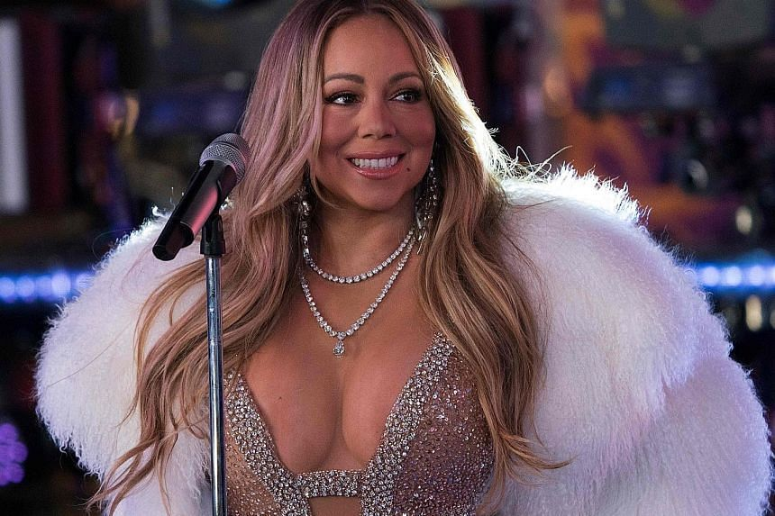 Singer Mariah Carey says she was diagnosed with bipolar disorder in 2001.