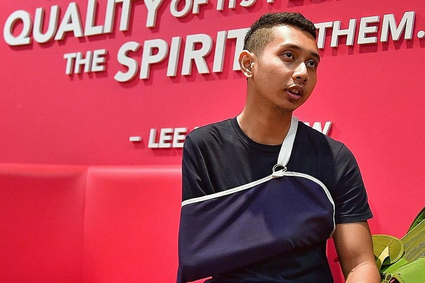 Para-athlete Mohammad Khairi Ishak had tested positive for methandienone, an anabolic steroid, in an out-of-competition test on March 12, said Anti-Doping Singapore.