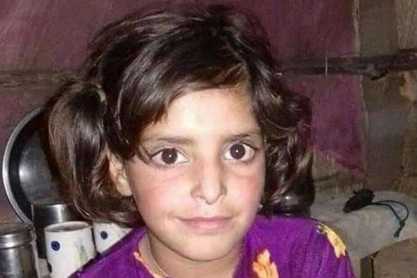 National Panthers Party activists in Jammu and Kashmir protesting about an investigation into the rape and murder of an eight-year-old girl. Asifa Bano, eight, was allegedly held captive and raped for seven days before being murdered.