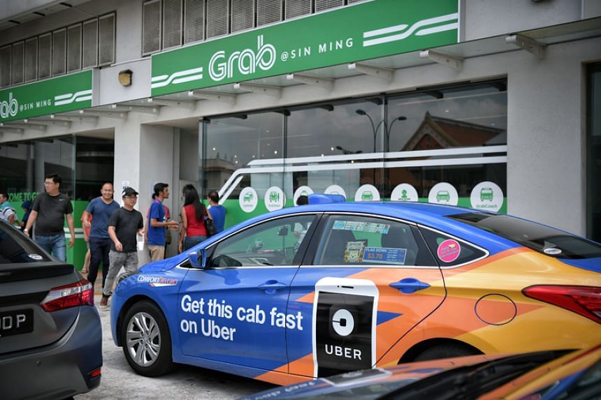 The Competition and Consumer Commission of Singapore said the measures will remain in place until it completes its investigation into Grab's acquisition of Uber's South-east Asian business.