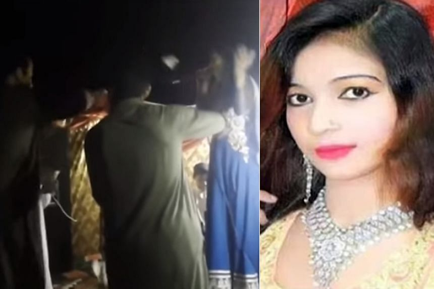 Ms Samira Sindhu was shot by a man as she reportedly would not stand up while singing at a circumcision celebration.